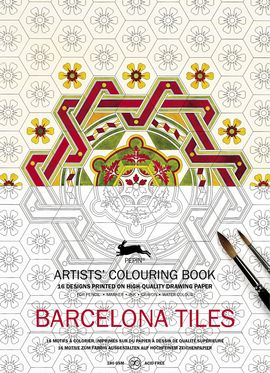 BARCELONA TILES -ARTISTS' COLOURING BOOK
