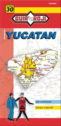 30. YUCATAN 1:540.000 -GUIA ROJI