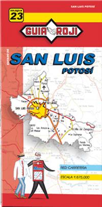 23. SAN LUIS POTOSI 1:875.000 -MAPA GUIA ROJI