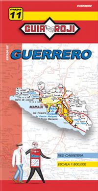 11. GUERRERO 1:800.000 -GUIA ROJI