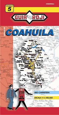 5. COAHUILA 1:1.150.000 -GUIA ROJI