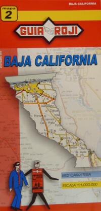 2. BAJA CALIFORNIA 1:1.000.000 -MAPA GUIA ROJI