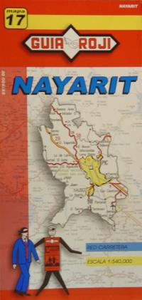 17 NAYARIT 1:540.000 -MAPA GUIA ROJI