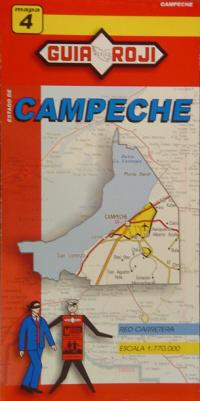 4. CAMPECHE 1:770.000 -MAPA GUIA ROJI