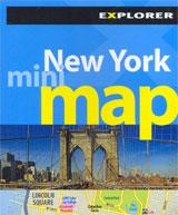 NEW YORK. MINI MAP -EXPLORER
