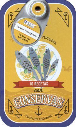 10 RECETAS CON CONSERVAS [FICHAS] - COCINA PORTUGUESA