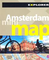 AMSTERDAM. MINI MAP -EXPLORER