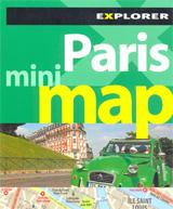 PARIS. MINI MAP -EXPLORER