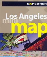 LOS ANGELES. MINI MAP -EXPLORER