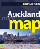 AUCKLAND. MINI MAP -MINI EXPLORER