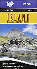 ISLAND -ICELAND 1:500.000 -FERDAKORT