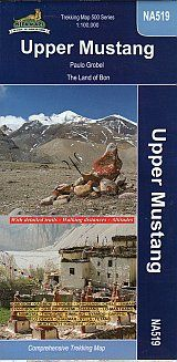 UPPER MUSTANG 1:80.000. THE LAST FORBIDDEN KINGDOM