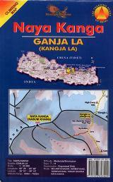 NAYA KANGA 1:80.000 CLIMBING MAP -NEPA MAPS